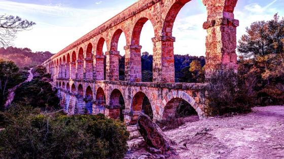 Les Ferreres Aqueduct (Aqüeducte de les Ferreres) wallpaper