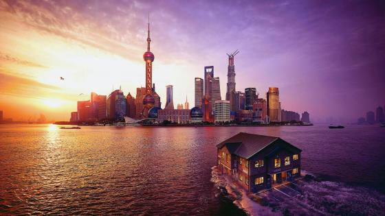 Pudong Skyline wallpaper
