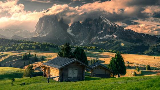 Alpe di Siusi (Italy) wallpaper