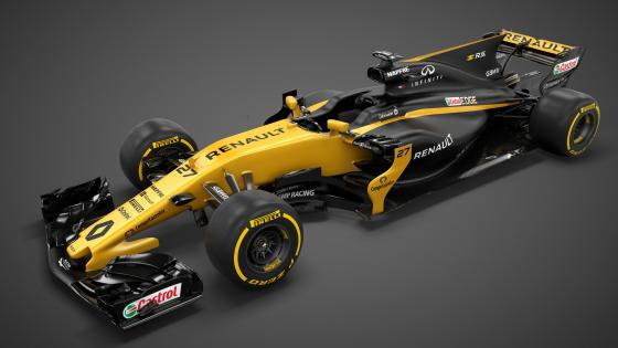 Renault RS17 racecar wallpaper