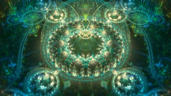 Asgard digital art - fractal art wallpaper