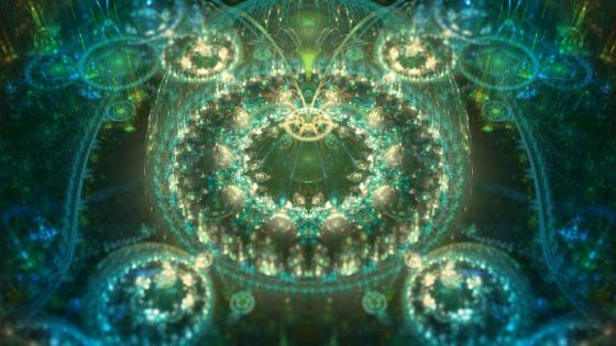 Asgard digital art - fractal art wallpaper