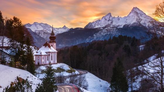 Wallfahrtskirche Maria Gern (Bavaria) wallpaper