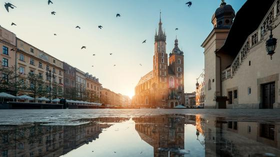 St. Mary's Basilica (Krakow) wallpaper