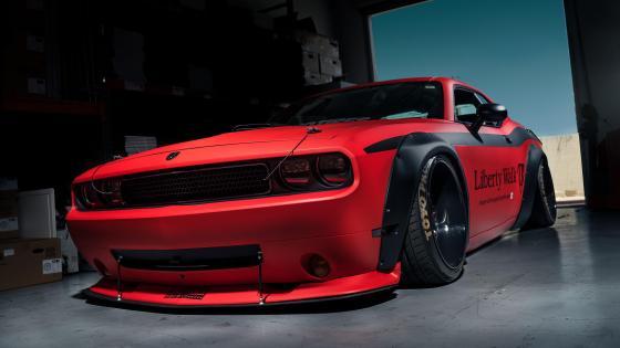 Dodge Challenger tuning car wallpaper