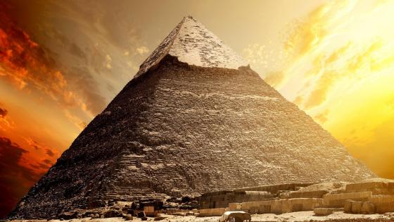 Pyramid of Khafre wallpaper