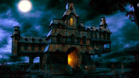 A Haunted House wallpaper