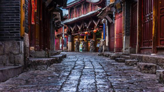 Lijiang Ancient Town wallpaper