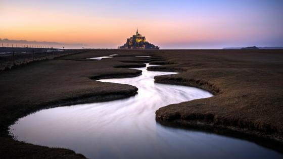 Mont Saint-Michel (Normandy, France) wallpaper