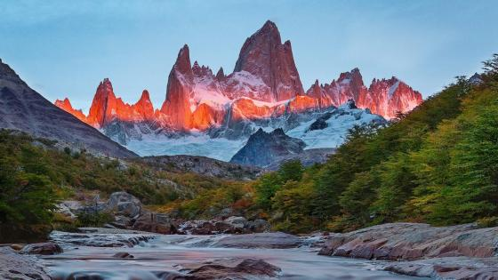 Monte Fitz Roy wallpaper