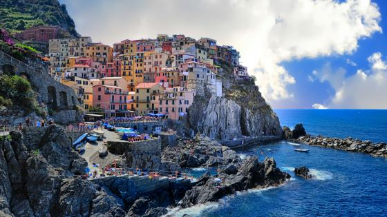 Manarola (Italy) wallpaper