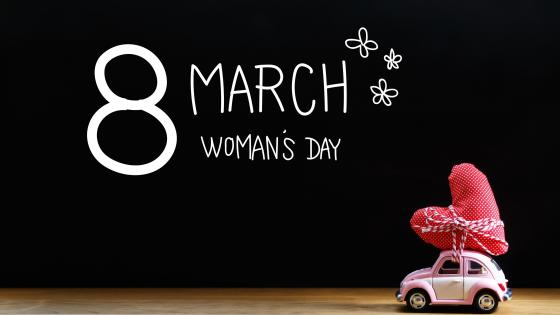 8 March Womans Day wallpaper