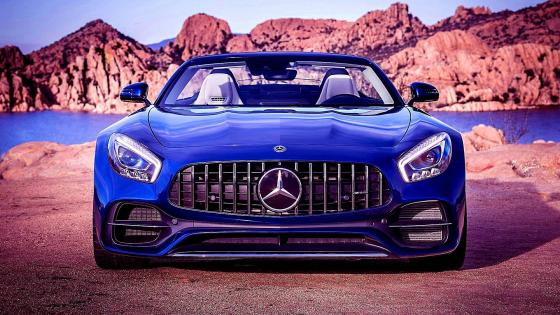 Mercedes AMG GT Roadster wallpaper
