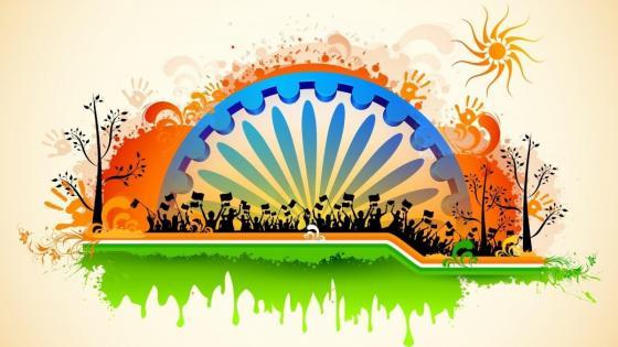 India - Happy Republic day! wallpaper