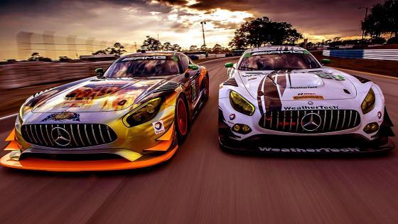 Marcedes AMG GT3 5K wallpaper