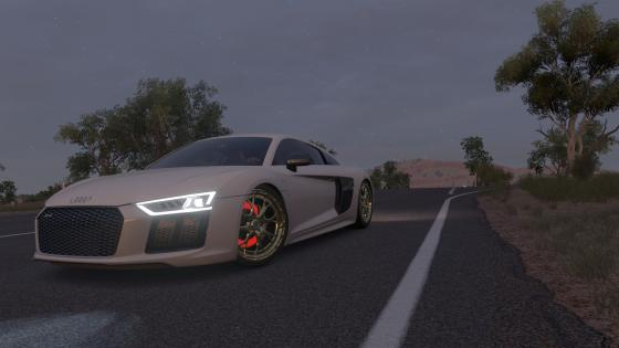 Audi R8 V10 Plus wallpaper