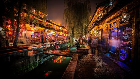 Old Town of Lijiang (China) wallpaper