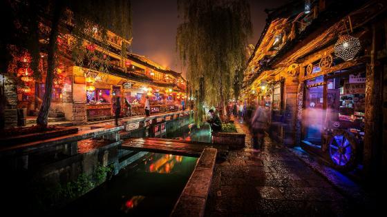 Old Town of Lijiang (China) wallpaper