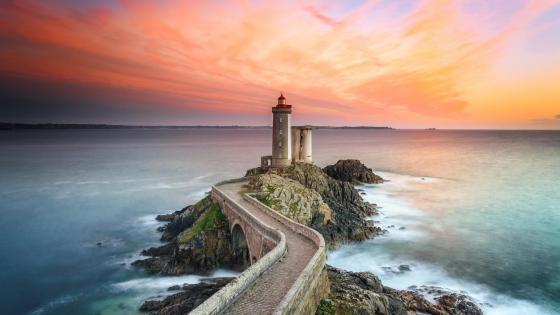 Lighthouse of Petit Minou (Phare du Petit Minou) wallpaper