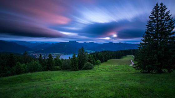 Tegernsee ( Bavarian Alps, Germany) wallpaper