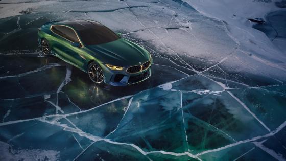 BMW Concept M8 Gran Coupe wallpaper