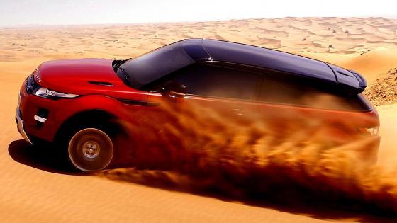 Range Rover Evoque Dubai wallpaper