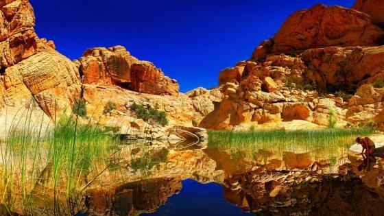 Calico Tanks Trail, Red Rock Canyon, Las Vegas wallpaper