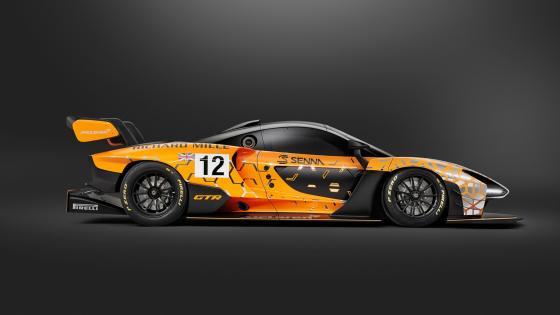 McLaren Senna GTR concept car wallpaper