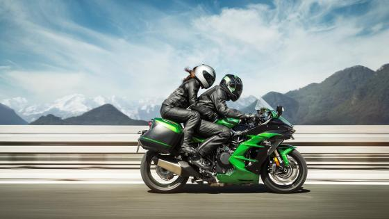Kawasaki Ninja H2 wallpaper