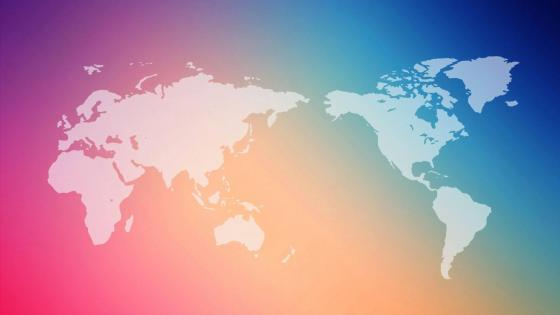 colorful world wallpaper