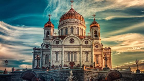 Cathedral of Christ the Saviour (Moscow) wallpaper