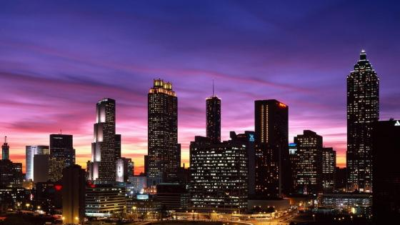 Downtown Atlanta wallpaper