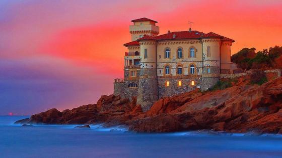 Castel Boccale (Livorno, Italy) wallpaper