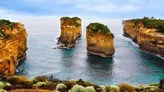 Loch Ard Gorge (Port Campbell National Park) wallpaper