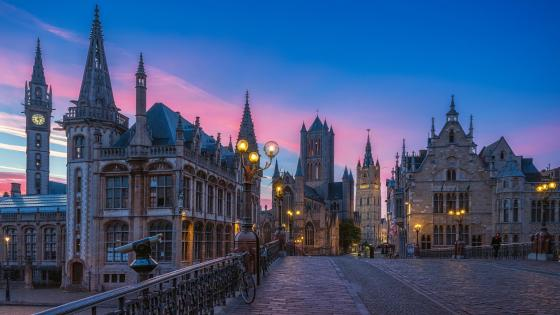 Saint Nicholas' Church (Ghent, Belgium) wallpaper