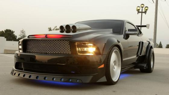 Knight Rider Ford Mustang K.I.T.T. Car wallpaper