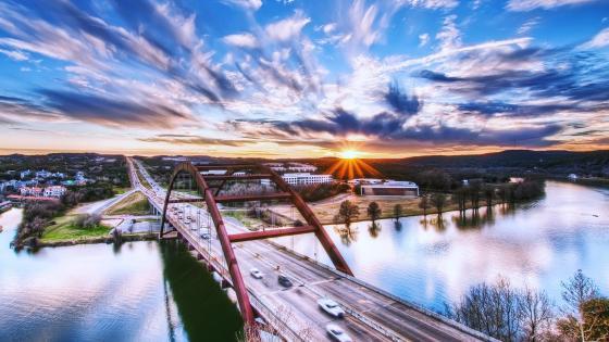 Pennybacker Bridge (Austin-Texas) wallpaper