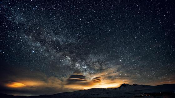 Starry heaven wallpaper