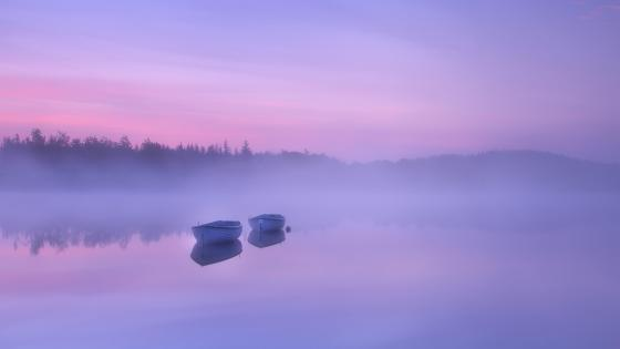 Loch Rusky, Scotland wallpaper