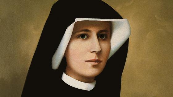 Saint Sister Faustina wallpaper