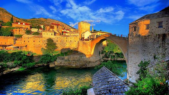 Old Bridge in Mostar wallpaper