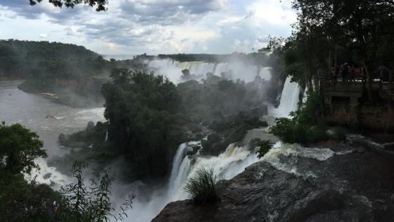 The Iguazu Falls wallpaper