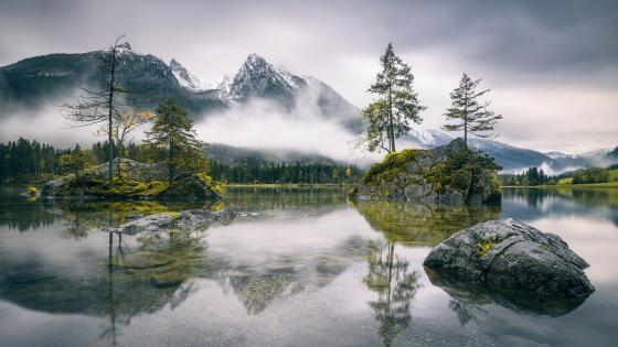 Hintersee (Berchtesgaden, Germany) wallpaper