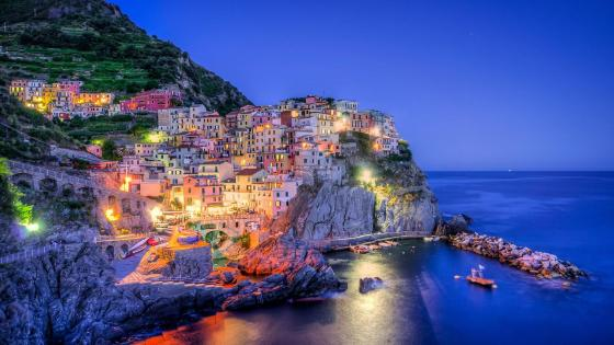 Manarola (Liguria, Italy) wallpaper