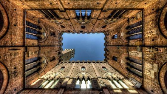 Torre del Mangia (Italy) wallpaper