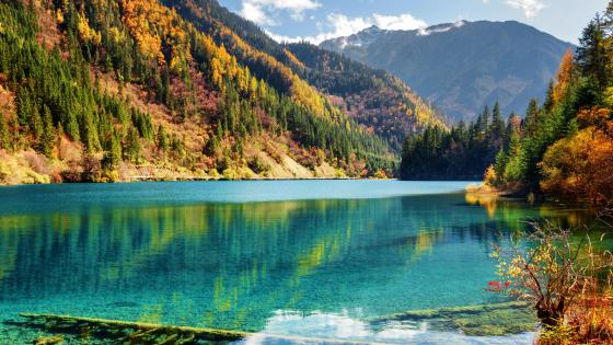 Jiuzhaigou Valley at fall wallpaper
