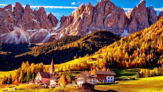 Villnoss South Tyrol wallpaper