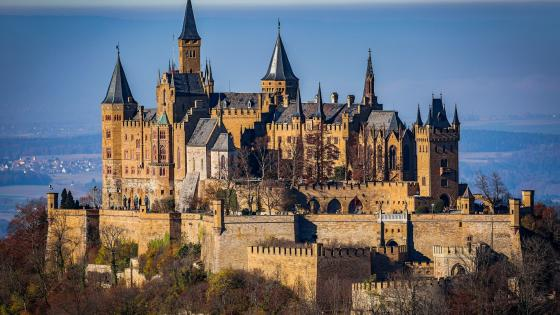 Hohenzollern Castle (Germany) wallpaper