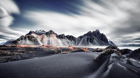 Vestrahorn Mountains wallpaper
