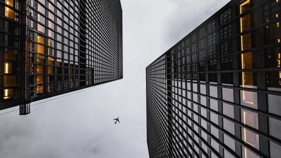 Buildings - Bottom view wallpaper